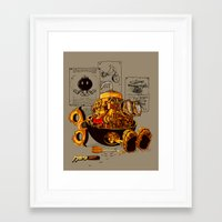 Work of the genius Framed Art Print