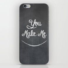 You Make Me Smile - Chalkboard iPhone & iPod Skin
