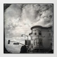 18th St San Francisco Canvas Print
