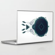 Laptop & iPad Skin featuring Cosmic Dreaming by Hector Mansilla