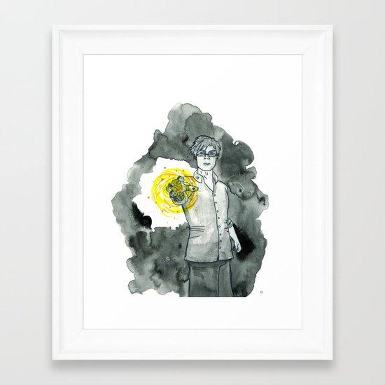 FireBall Framed Art Print