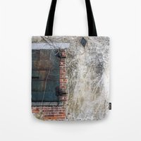 Dark Window Tote Bag