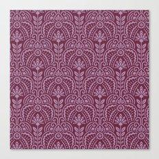 Las Vegas deco pattern Canvas Print