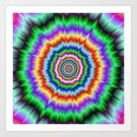 Eye Boggling Explosion Art Print