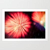 Fireworks - Philippines 5 Art Print