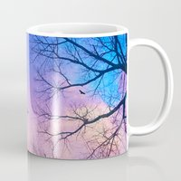 A New Day Will Dawn  (Day Tree Silhouettes) Mug