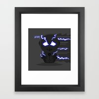 ChibizPop: Zoom, Zoom! Framed Art Print