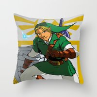The Legend of Zelda: Link Throw Pillow