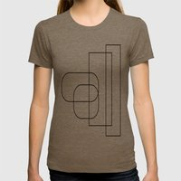 Transition Womens Fitted Tee Tri-Coffee SMALL
