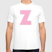 Z Is For... Mens Fitted Tee White SMALL