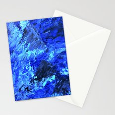 Waves  /abstract Stationery Cards