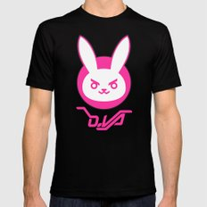 D-Bunny Black SMALL Mens Fitted Tee