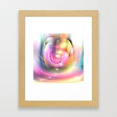 Batic Style Framed Art Print