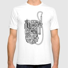 Packing Proton Mens Fitted Tee White SMALL