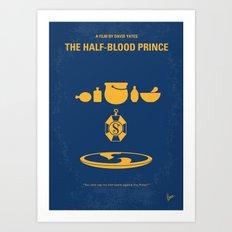 No101-6 My HP - HALF BLOOD PRINCE movie poster Art Print