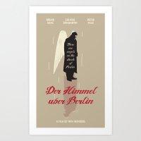 Der Himmel Uber Berlin Art Print
