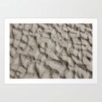 The Sand Dunes Art Print