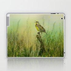 The Meadow Lark Sings Laptop & iPad Skin