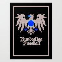 Bundesliga Football - Ea… Art Print