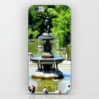 Water at the park iPhone & iPod Skin