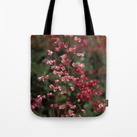 Little Red Flowers Tote Bag