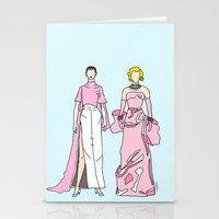 Pretty in PINK it like Audrey and Marilyn Stationery Cards