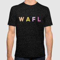 WAFL Light Mens Fitted Tee Tri-Black SMALL