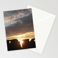Sunset at Stonehenge Stationery Cards