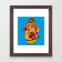 Little Warrior Framed Art Print