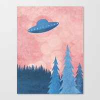 Unidentified Flying Obje… Canvas Print
