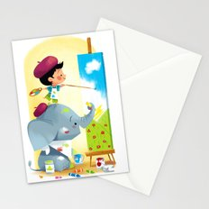 Painting Day Stationery Cards