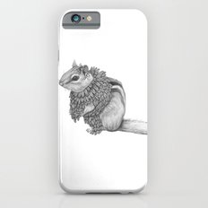 The Chipmunk- Feathered iPhone 6s Slim Case