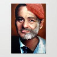 Bill Zissou  Canvas Print