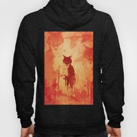 Glimpse Of A Fox In The Forest Hoody