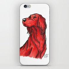 Brush Breeds-Irish Setter iPhone & iPod Skin