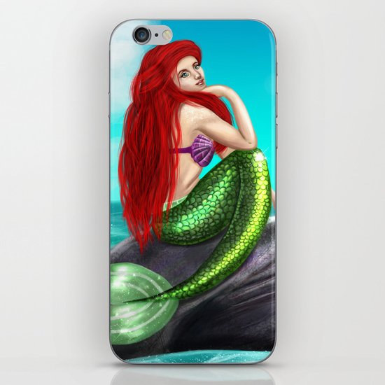 The little mermaid iPhone & iPod Skin