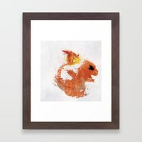 #004 Framed Art Print