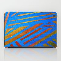 Geometric Blue iPad Case