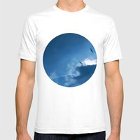 float with the tide Mens Fitted Tee White SMALL