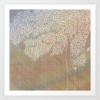 The Second Tree Art Print