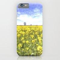 Summer Farm Trees Art iPhone 6 Slim Case