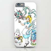 iPhone Cases featuring I'm not all there Myself by Randy C