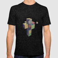 Francis 1  Mens Fitted Tee Tri-Black SMALL