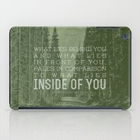 Inside of You iPad Case