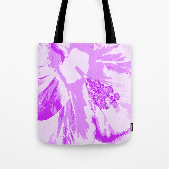 Intimate Purple Tote Bag