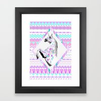 TWIN SHADOW by Vasare Nar and Kris Tate Framed Art Print