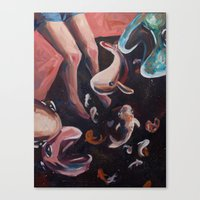 SpaceFish  Canvas Print