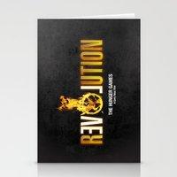 Hunger Games - Revolution Stationery Cards