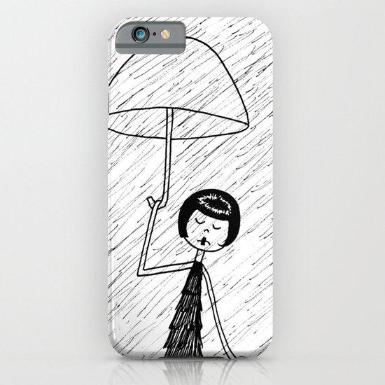 Rainy day iPhone & iPod Case