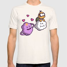 Lumpy Space Princess: You know you want these lumps! Mens Fitted Tee Natural SMALL